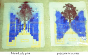 pulp prints in process